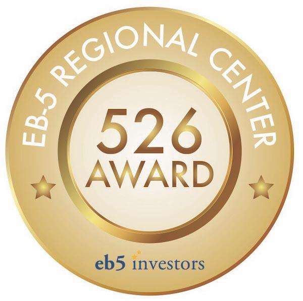 EB5 Regional Center I-526 Award