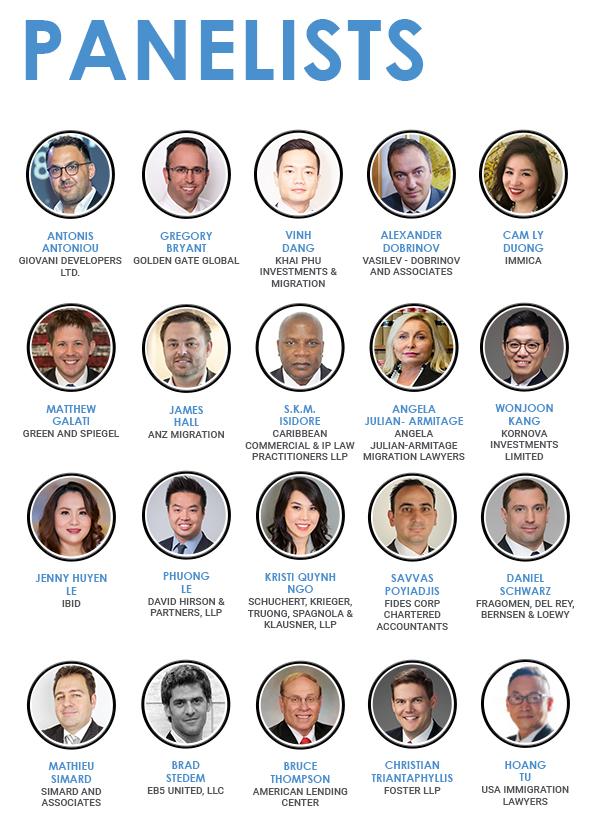 EB-5 Expo Ho Chi Minh City Speakers