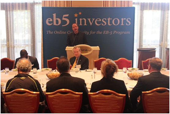 Congressman Polis at EB-5 Conference