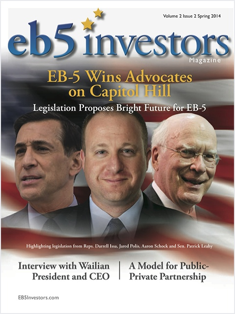 EB5 Investors Magazine Spring 2014 Issue