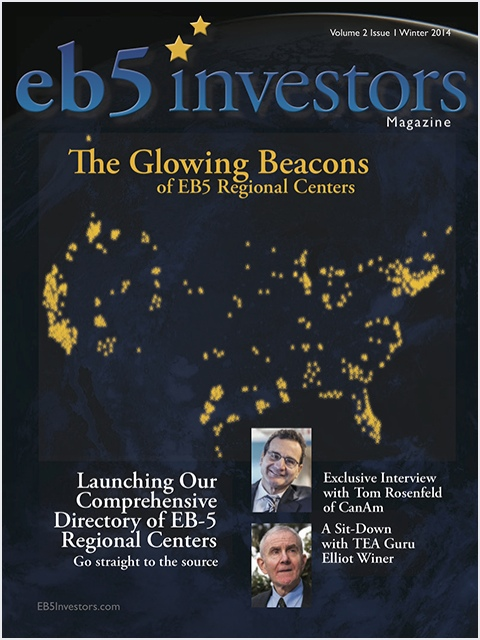 EB5 Investors Magazine Winter 2014 Issue