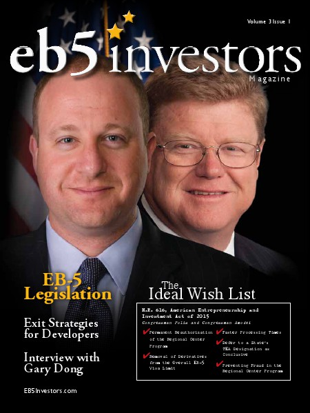 EB5 Investors Magazine Spring 2015 Issue