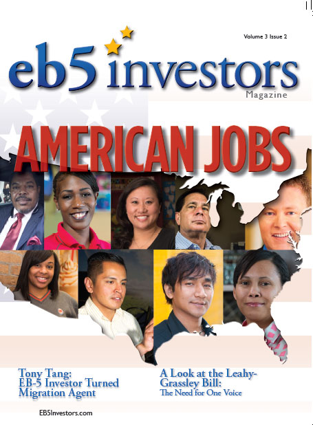 EB5 Investors Magazine Summer 2015 Issue