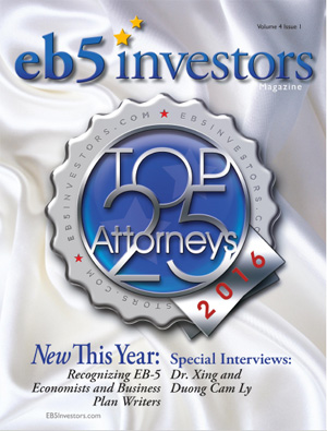 EB5 Investors Magazine 2016 English V4 I1 Issue